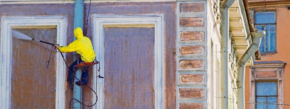 Hidrolimpieza de fachadas